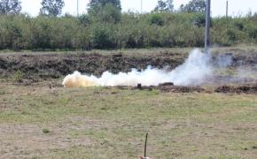 Навчання на полігоні у рамках курсу військової підготовки