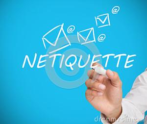 businessman-writing-netiquette-white-blue-backgorund-31550415